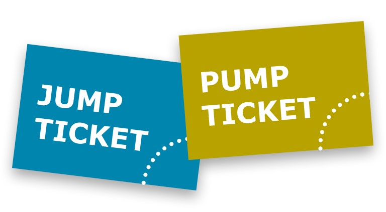 Jump Ticket Pump Ticket HIGHMATRAUSCH Trampolin und Actionpark Dornbirn, Vorarlberg.png